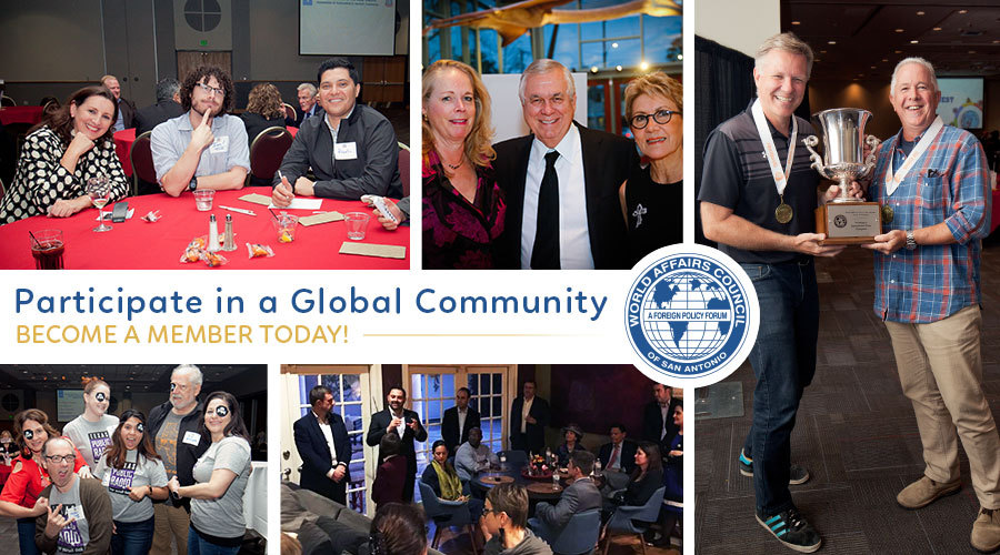 Participate in a Global Community - Become a Member Today!